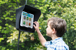 sunshade with tablet