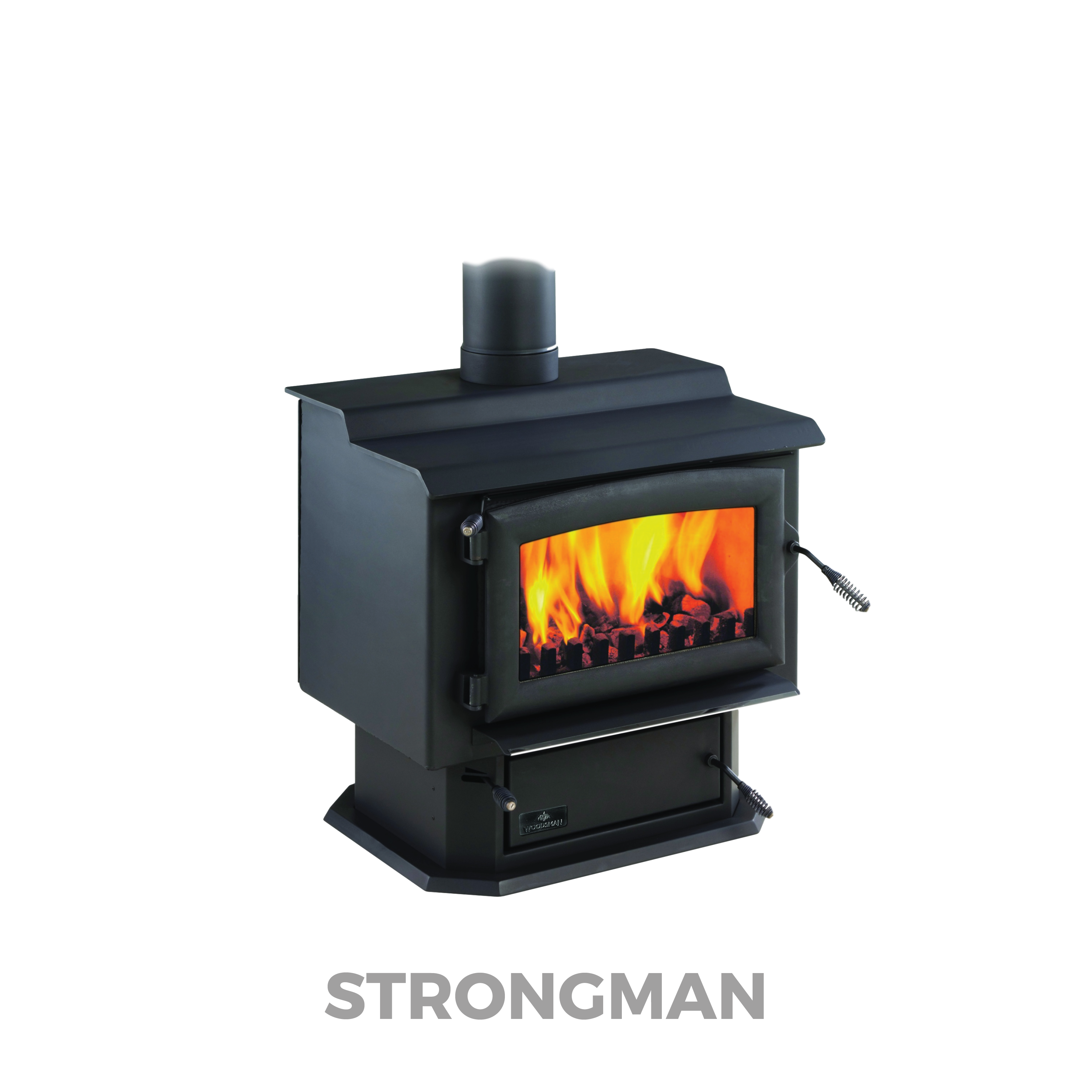 STRONGMAN | Woodsman Multi-Fuel Fire