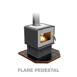 Flare Pedestal | Woodsman Fires