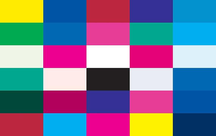 Bold & Clear - Colour Card | Colourisma, Christchurch NZ