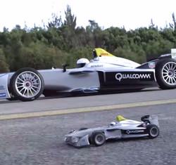 Formula E vs RC