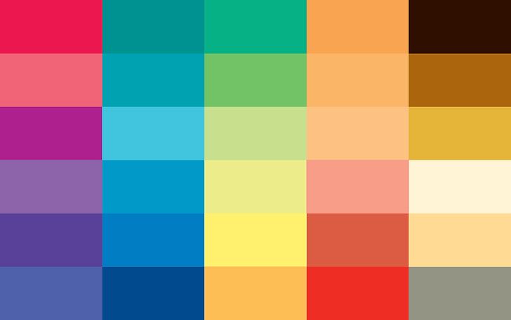 Bright & Clear - Colour Card | Colourisma, Christchurch NZ