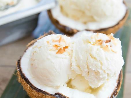 Coconut Ice Cream Tuesday!