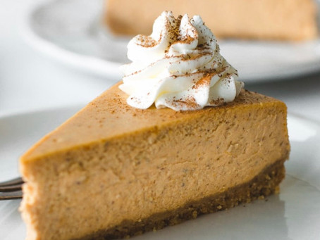 Pumpkin Cheesecake Ice Cream Tuesday!