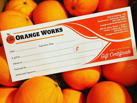 Gift Certificates & Gift Cards Available!