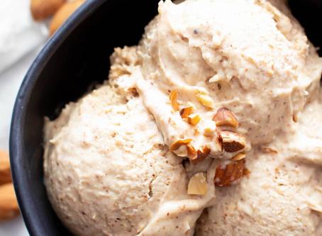Almond Ice Cream Thursday!