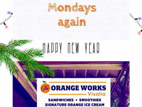 Reopening Mondays, yay!
