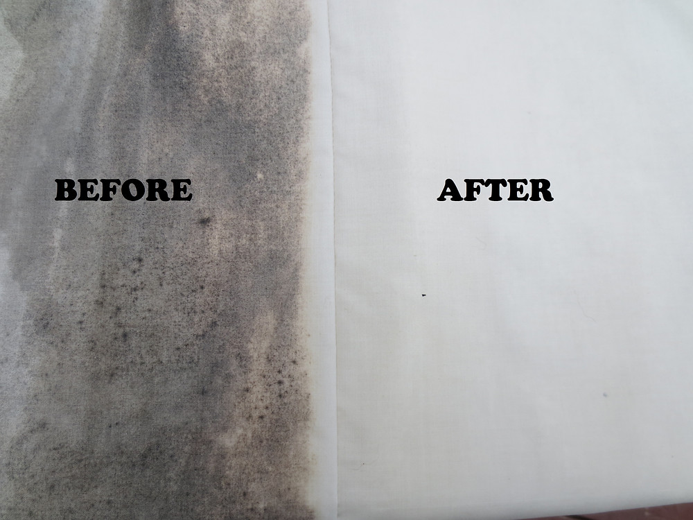 Our before and after results on lined curtains
