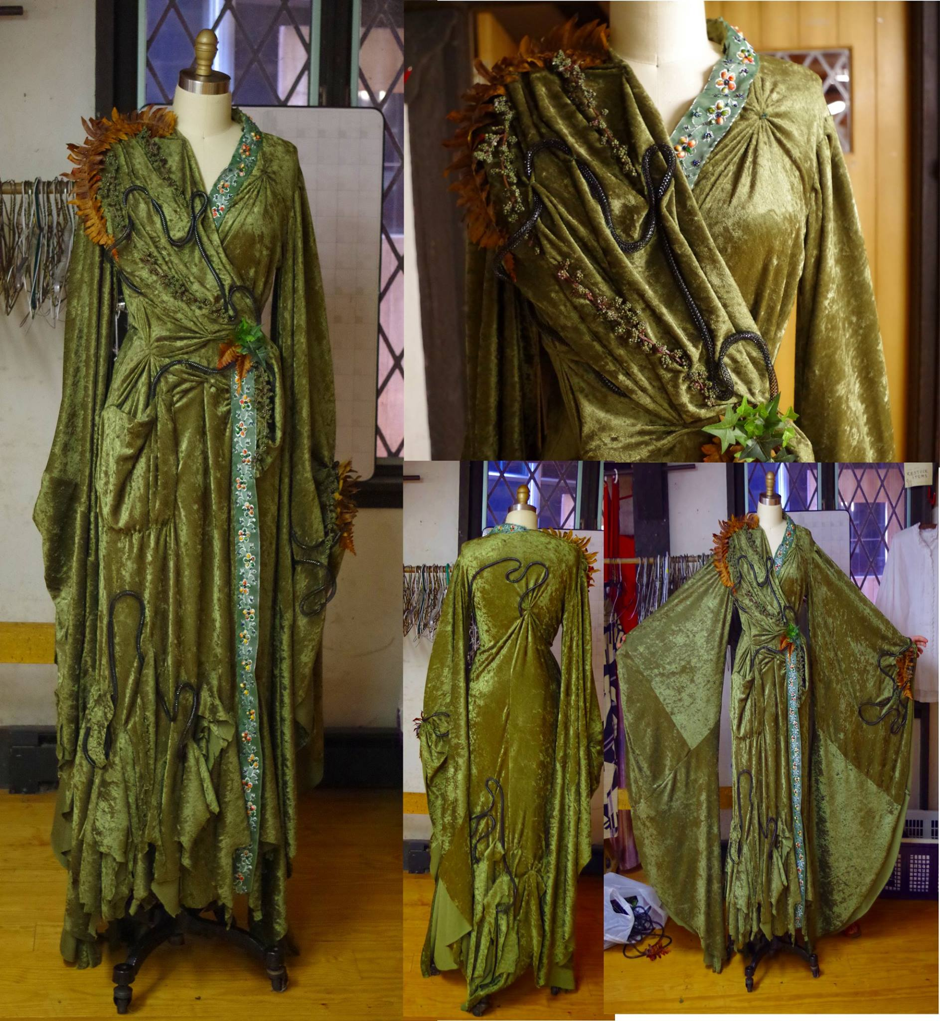 Into the Woods, The Witch's Dress