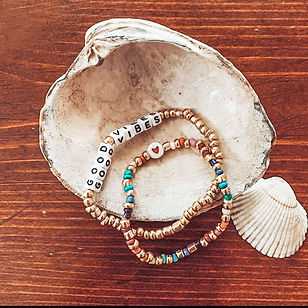 Beaded Word Bracelets