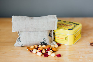 HELEN ROUND Linen Snack Bags Eco Collect