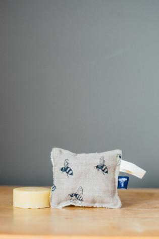 HELEN ROUND Eco Bamboo and Linen Sponge