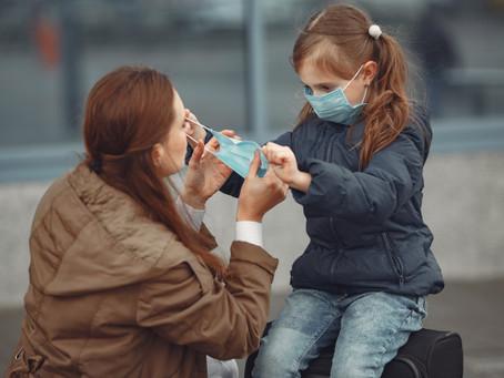 Qué hacer cuando tus niños se enferman durante la cuarentena