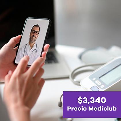 Hospital en casa con dispositivos (costo mensual)