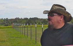 Ian & Dan Done Erecting The Fence