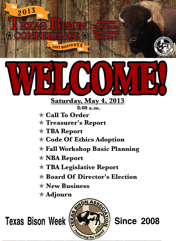 Morning Agenda Poster