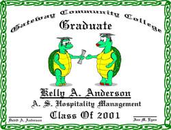 Turtle Diploma