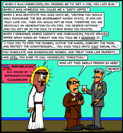 Jesus Visits The GOP