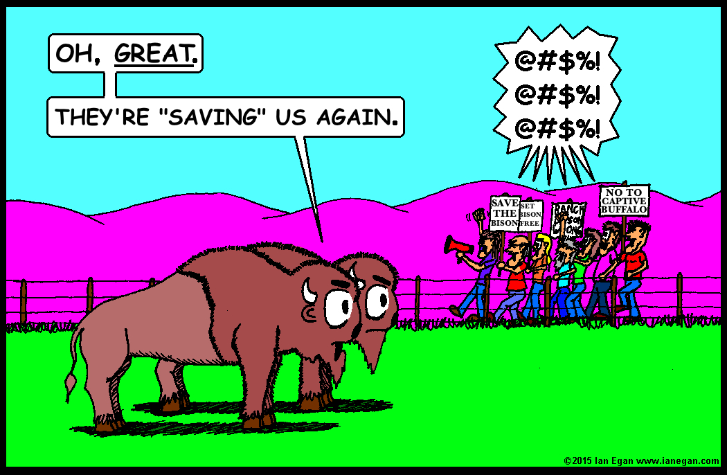 Great-Saving Us Again