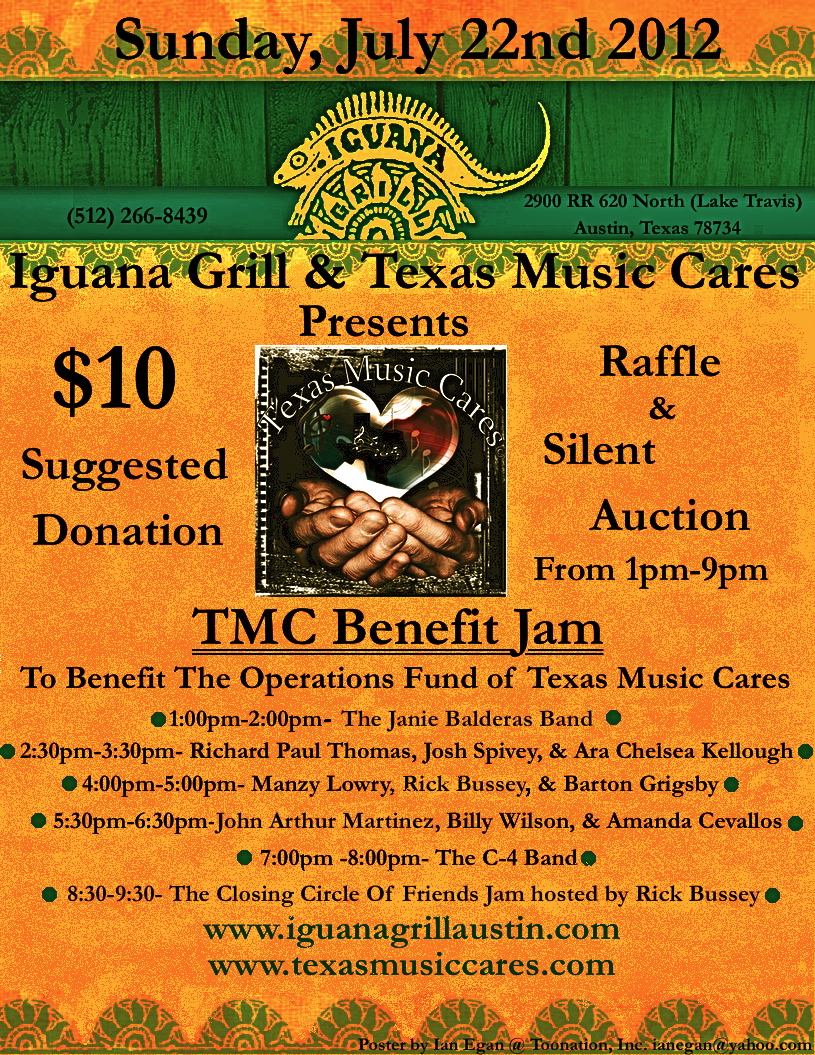 Iguana Grill Poster