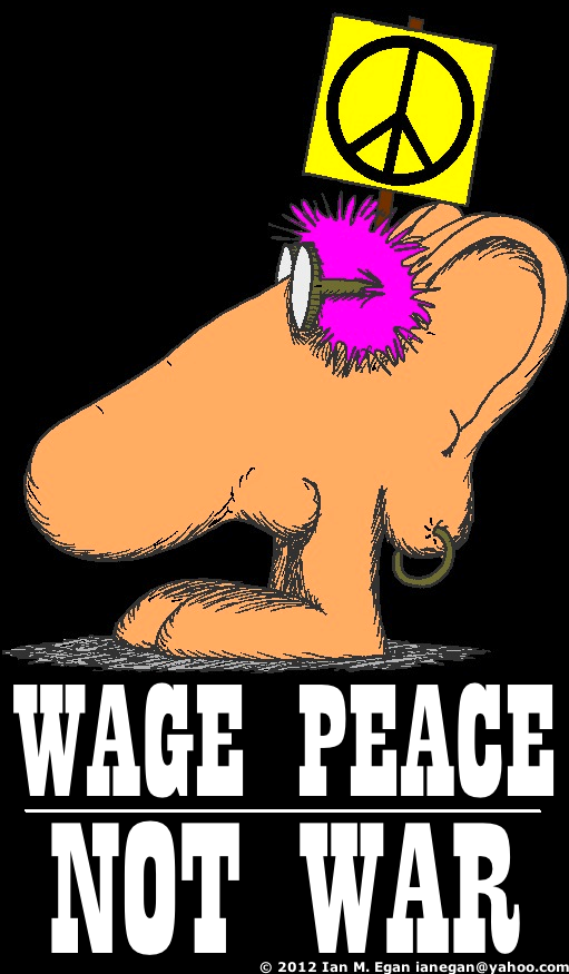 Wage Peace Melvin