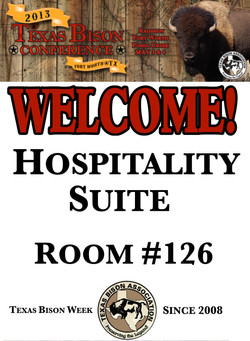 Hospitality Suite Poster