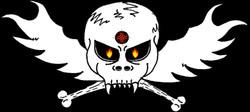 Alien Skull & Crossbones