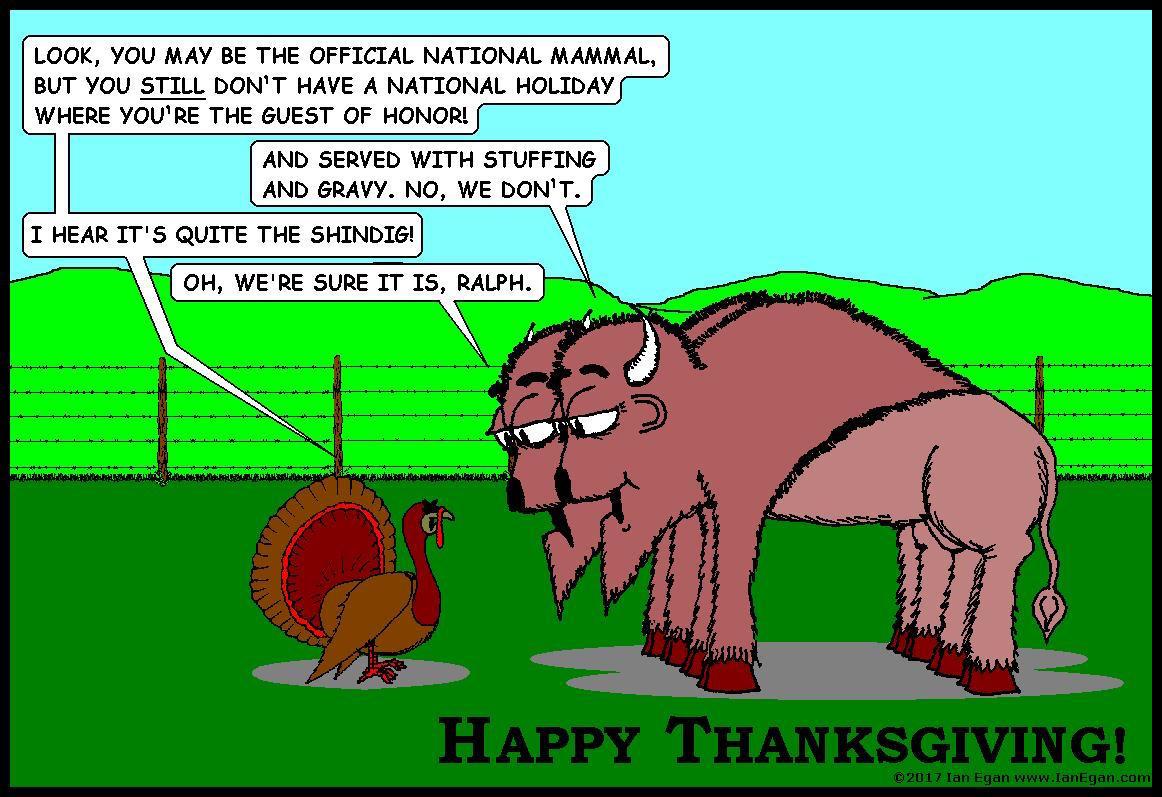Bison Thanksgiving