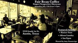 Fair Bean Showcase Poster