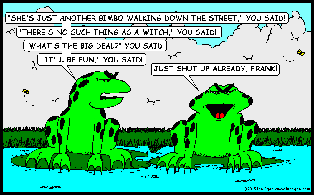 Frogs Bewitched