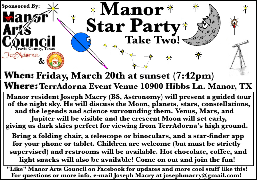 Star Party 3-21-15