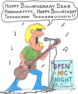 Amy's Birthday Card