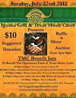 Texas Music Cares Benefit 1