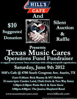Texas Music Cares Benefit 2