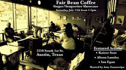 Fair Bean 7-12-14