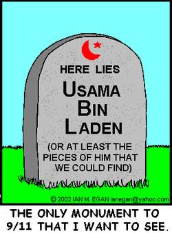 bin Laden's Gravestone