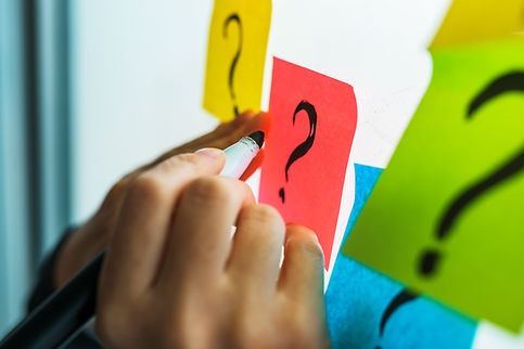 Post it notes - brain storming