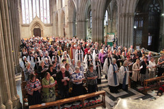 ALM Service at Worcester Cathedral 2019