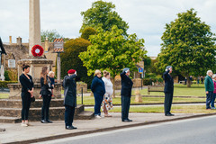 David Folkes MBE funeral procession.