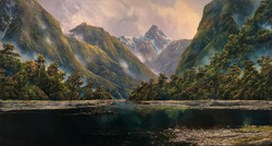 SOLD - Croaked Arm, Doubtful Sound