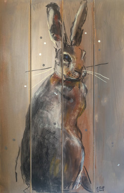 SOLD - Hare Today, Gone Tomorrow 2