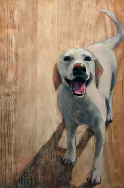 SOLD - Happy Dog