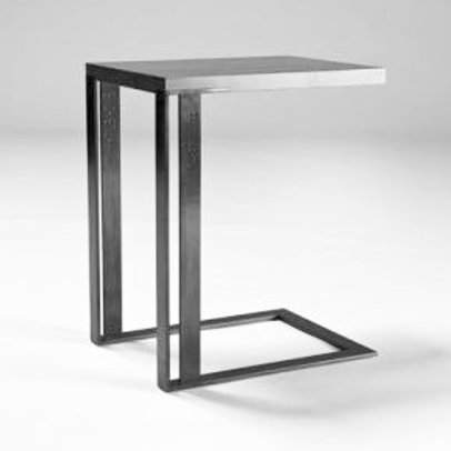 Metal & Timber Side Table