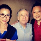 Tan Sri Michelle Yeoh & Jean Todt