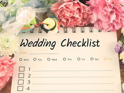 Steps to take before planning your Wedding!