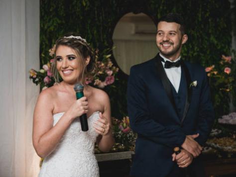 Find a bride wedding speech.