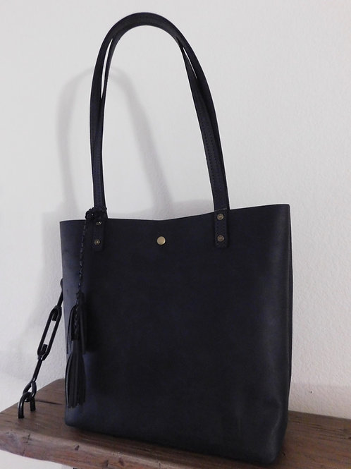 Everyday Tote - Stone Oiled Black