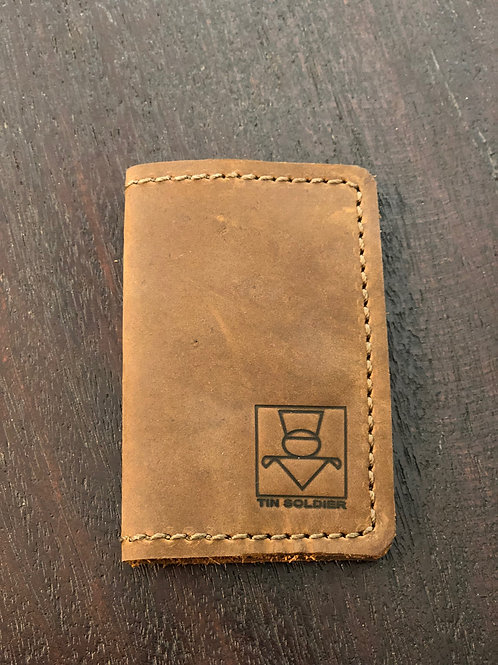 TS Wallet - Stone Oiled Tan