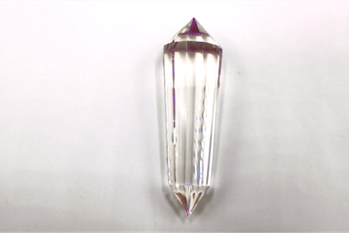 12 Sided Clear Small Vogel Crystal