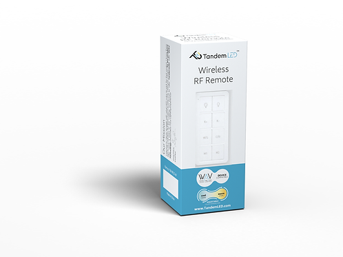 Wireless Decora style TandemLED Remote